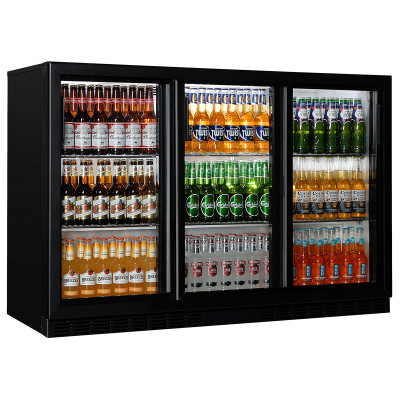 """Back Bar cooler with sliding doors """"Coolhead"""" BBC 330S"""