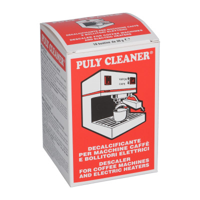 """Descaler for coffee machines """"Puly Cleaner Descaler® Cristalli"""", 10x30 g"""