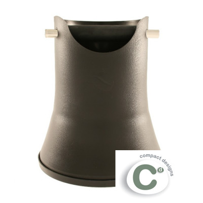 """Round knock tube """"Compact Designs"""" 175 mm (black)"""