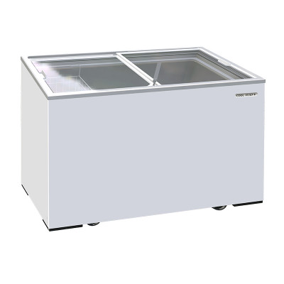 """Chest freezer sloping glass top """"""""Coolhead"""""""" CFG300"""