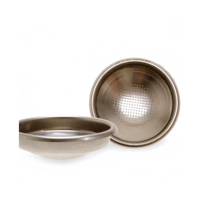 Portafilters and sieves
