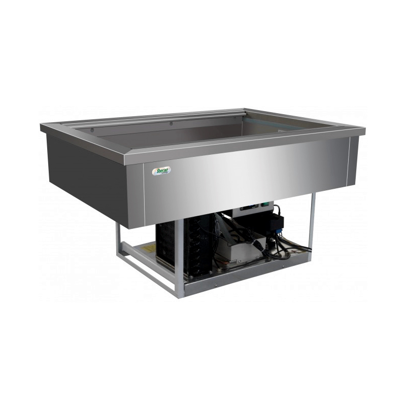 Refrigerated bain marie