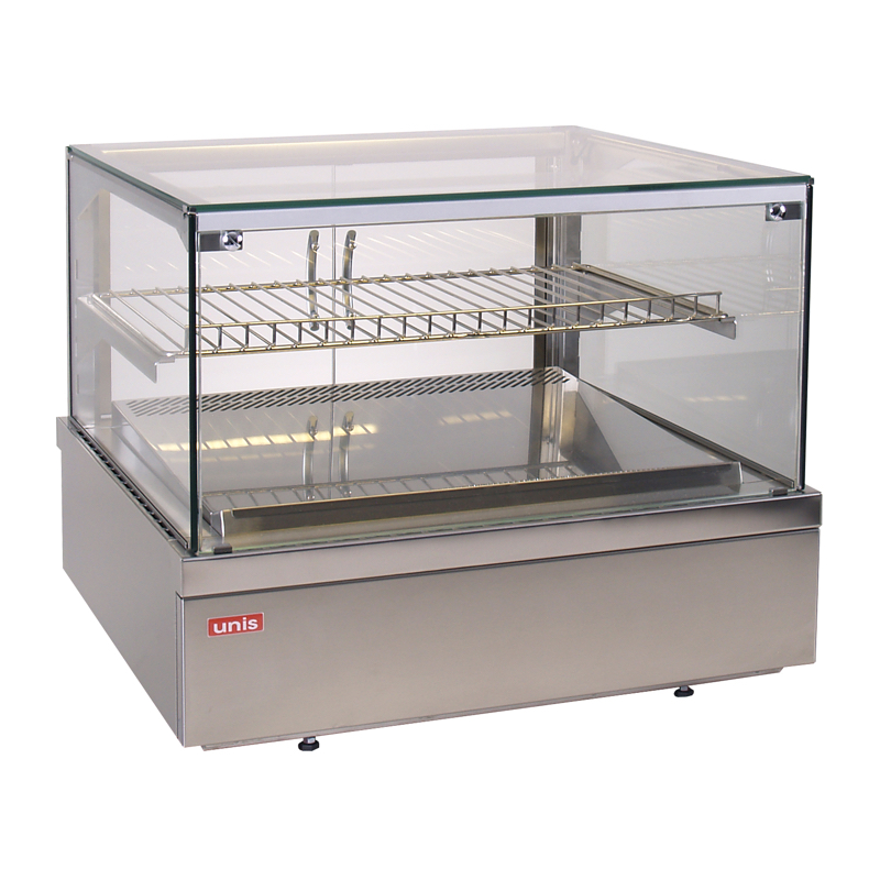 Refrigerated topping displays